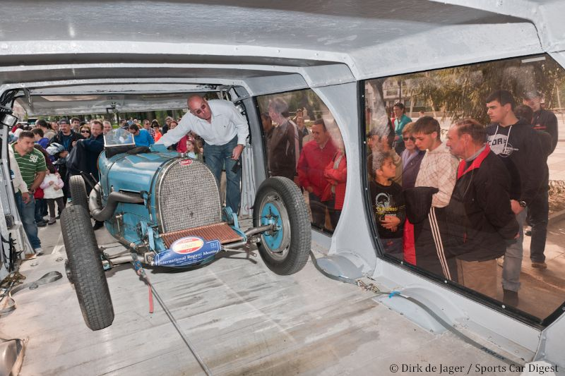 Time to go home - Bugatti T54 SN 47153