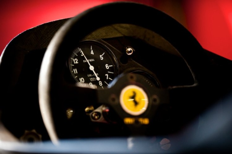 Vintage Ferrari F1 Detail