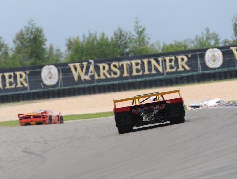 Ferrari 312PB chases Ferrari FXX