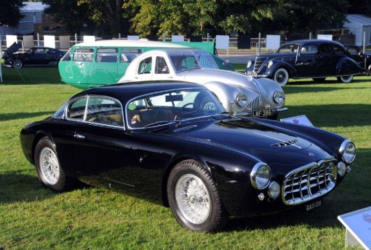 1955 Maserati A6G 54 of Jay Kay