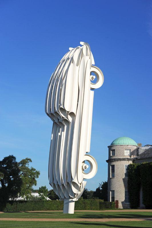 Jaguar E-Type Celebration Sculpture
