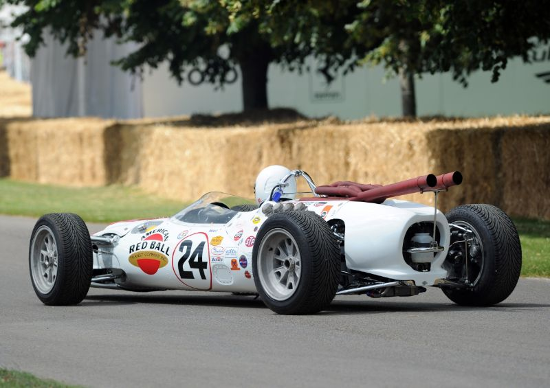 1966 Lola-Ford T90 Red Ball Special
