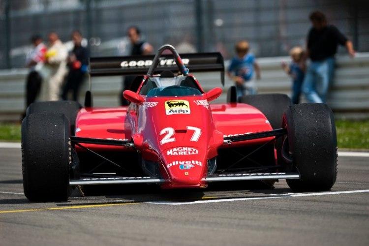 1982 Ferrari 126C2, ex-Gilles Villeneuve