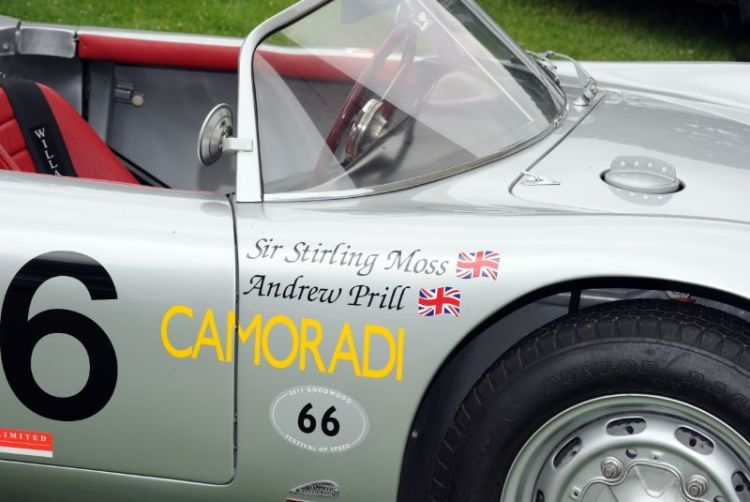 Stirling Moss Porsche RS 61