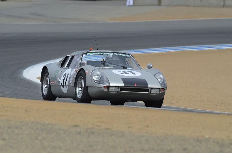 1964 Porsche 904 driven by Andrew Prill.