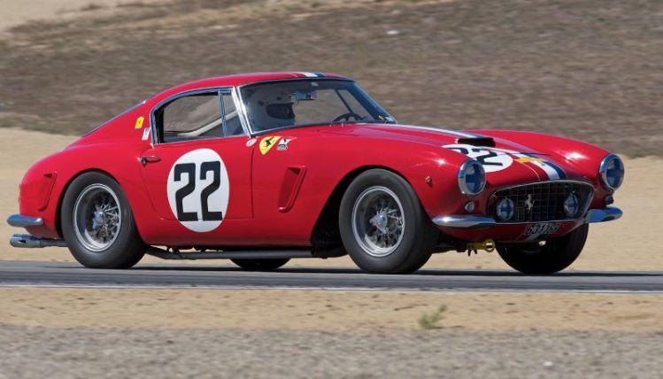 Robert Bodin's 1960 Ferrari 250 GT SWB.