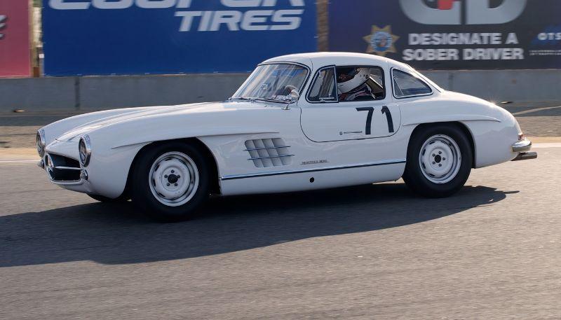 Steve Marx, 1954 Mercedes-Benz 300SL Gullwing.