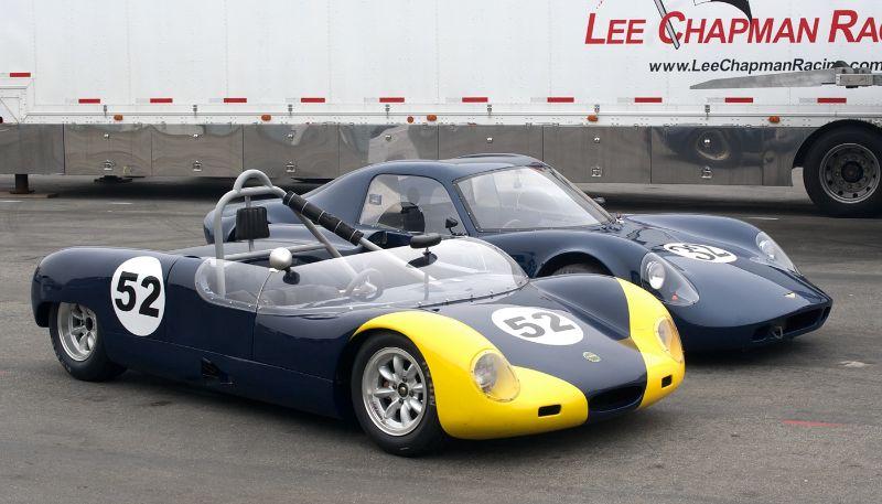 1965 Merlyn Mk.6 and 1968 Chevron B8.