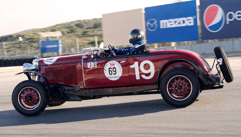 1931 Chrysler CD-8 LeMans driven by Howard Swig.
