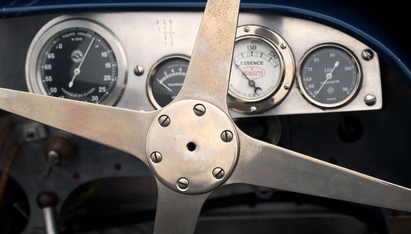 Bugatti detail.