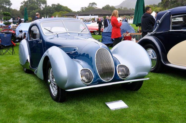 1938 Talbot Lago T150C Teardrop Coupe, William 'Chip' Connor