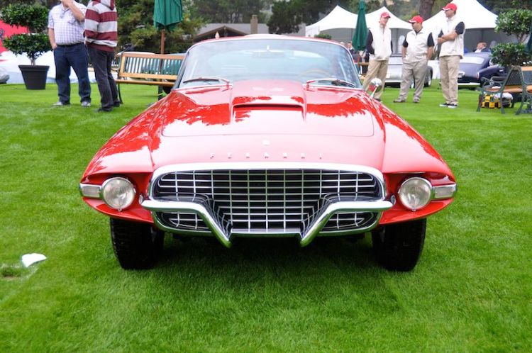 1956 Ferrari 410 Superamerica Series 1 Ghia Body, Robert Lee
