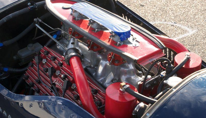 Dob Pepperdene's 1949 Baldwin Special Flat-Head Ford.