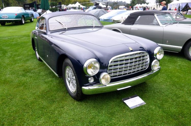 1951 Ferrari 340 America, Jack Thomas