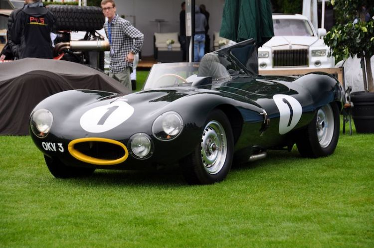 1954 Jaguar D-Type, Mallya Collection