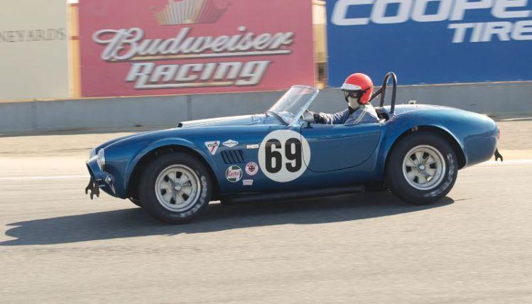 MHP sets-up Nick Colonna's 1964 Shelby Cobra.