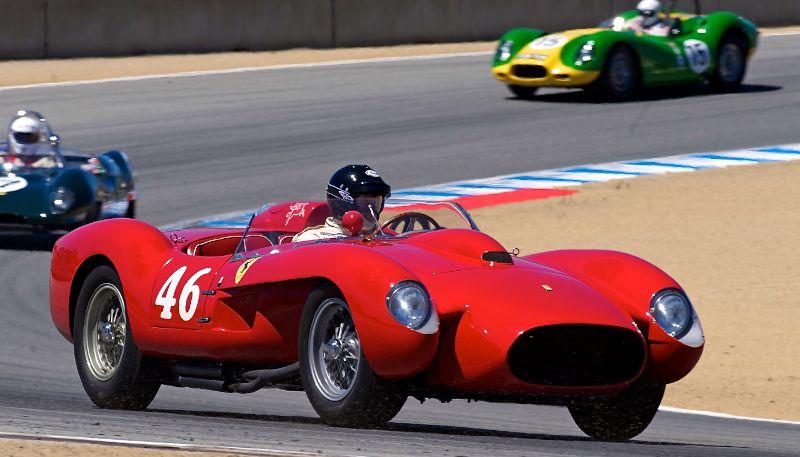 1958 Ferrari 250TR, Cris Cox.