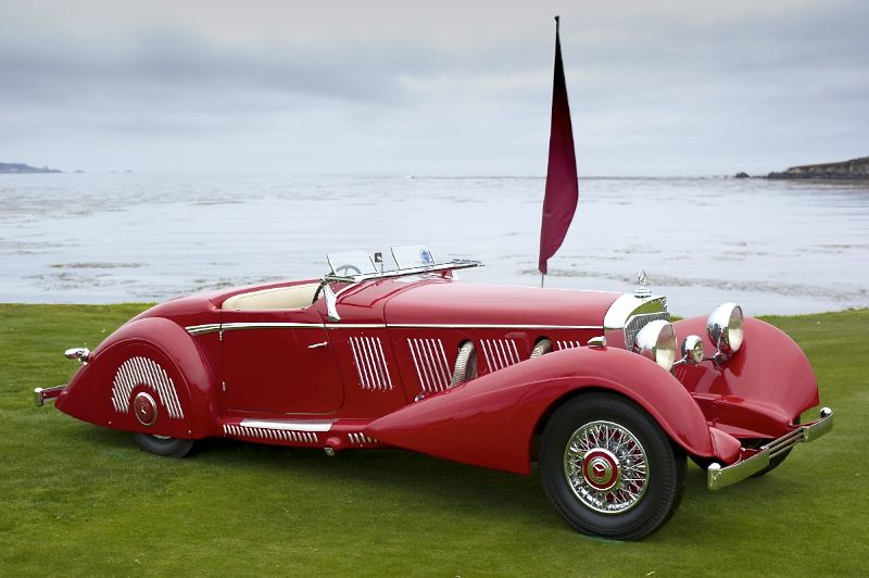 1936 Mercedes-Benz 540K Mayfair Special Roadster, Don Williams