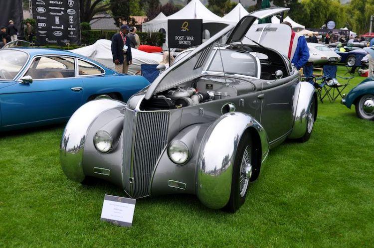 1936 Ford Aerosport, Eric Zausner