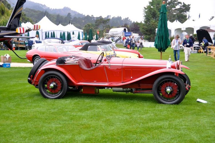1929 Alfa Romeo 1750 SS Zagato, Michael Kadoorie