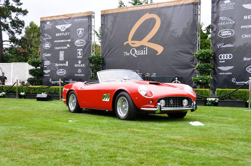 1962 Ferrari 250 SWB California Spyder, Larry Carter