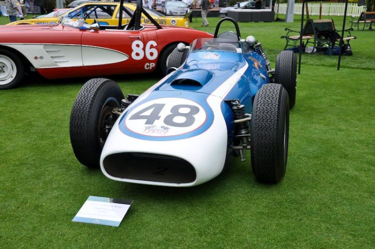 1960 Scarab F1, Barnaby Browkaw