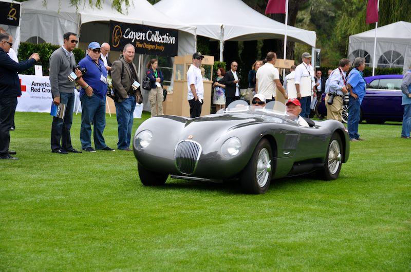 Jaguar Racing Car Parade