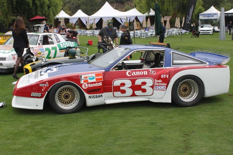 Bob Sharp Racing 1986 Nissan 300ZX Trans-Am, Adam Carolla