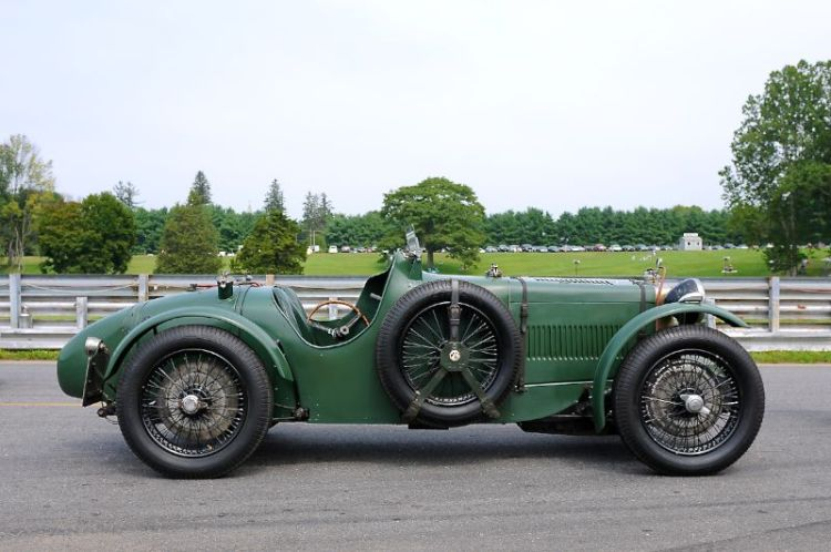 Le Mans winner - 1934 MG K3 Magnette from the Simeone Auto Museum.