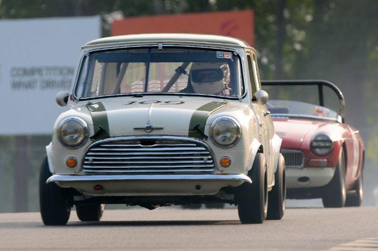 1966 Morris Mini Cooper S- Mack McCormack.