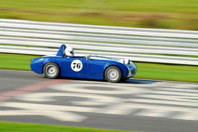 1959 Austin Healey Sprite, John Travers.
