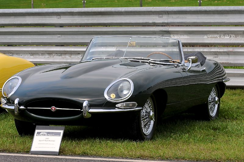 1967 E-Type Jaguar.