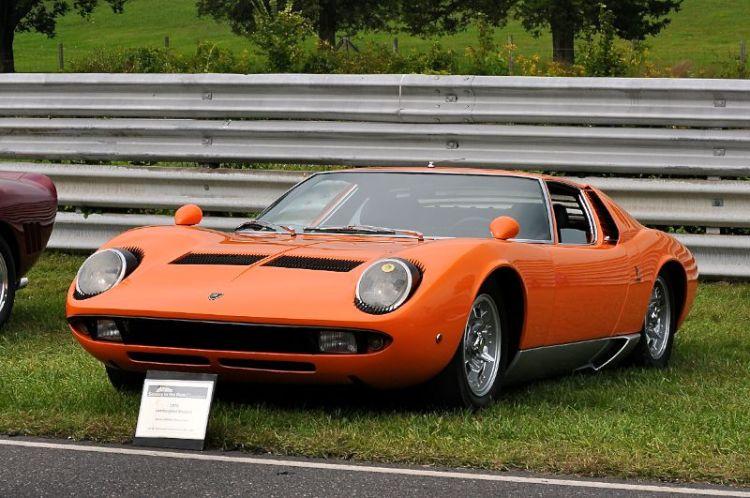1970 Lamborghini Miura S- Barney Hallingby.