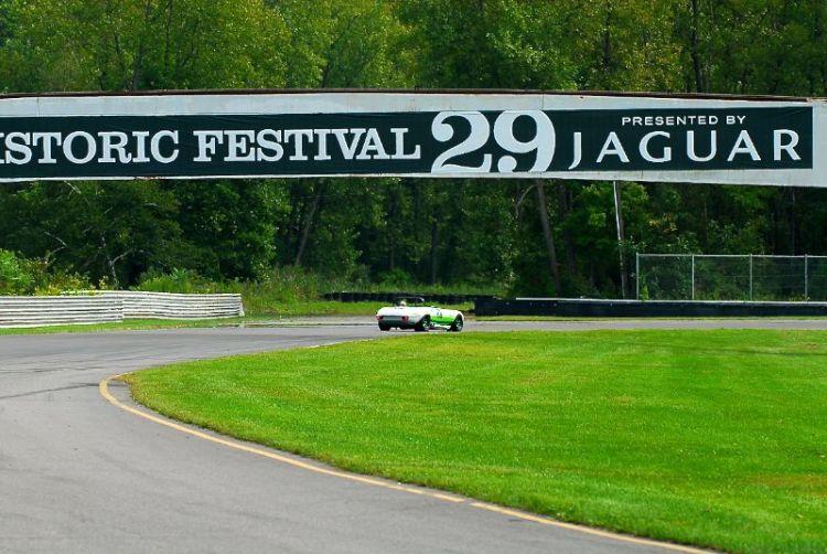 Bob Tullius, in the Group 44, Jaguar Series III, V12 E-Type.