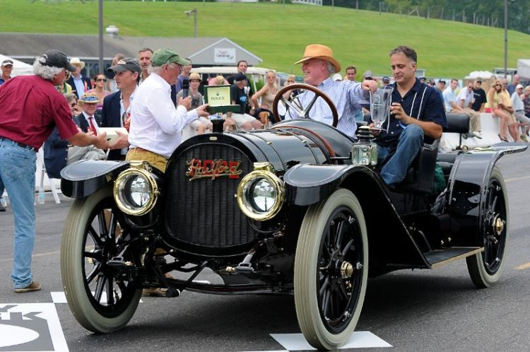 And the Rolex goes to - 1911- Pope Hartford Stewart Laidlaw.