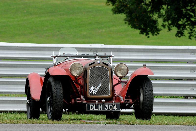 1934 Alfa Romeo 8C 2300 Spider by Castagna - Simeone Auto Museum.