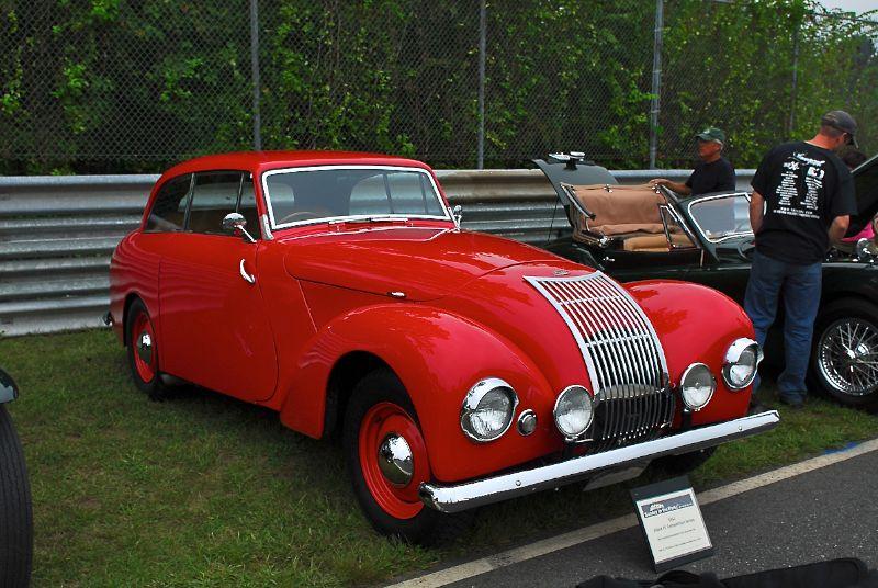 1951 Allard P1 Competition Series.