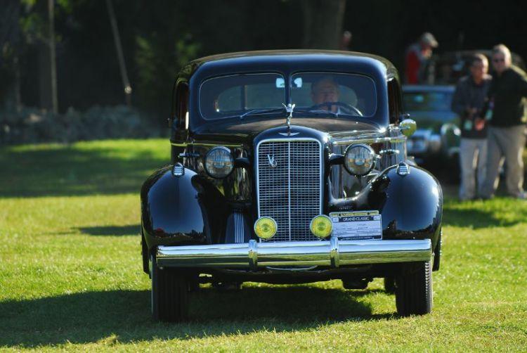 1937 Cadillac Stationary Coupe- David Kane.