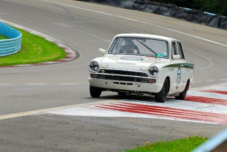 1965 Lotus Cortina- Roger Barton.