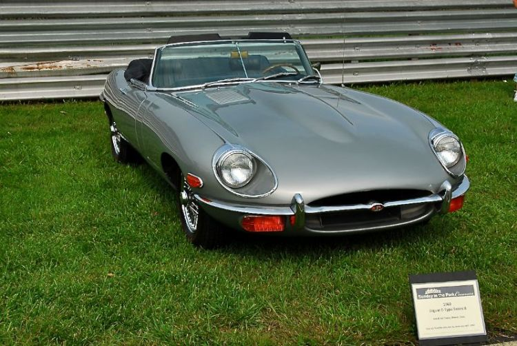 1969 Jaguar E-Type Series 2, Ann & Joe Trotta.