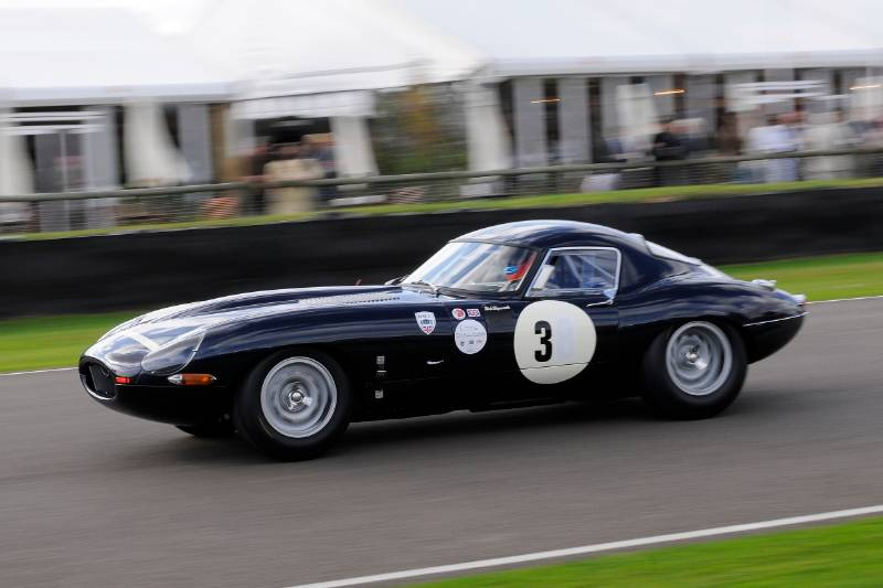 Jaguar E-Type Race at Goodwood Revival 2011