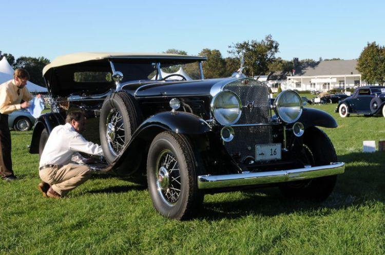 1930 Cadillac V-16- George R. Holman.