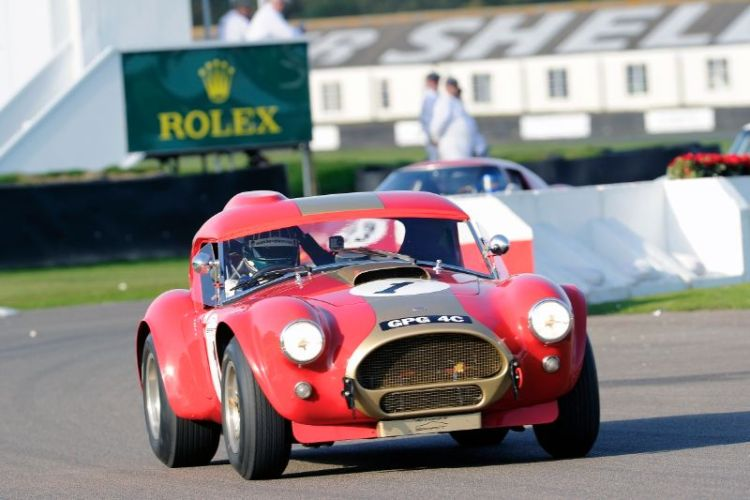 1964 AC Cobra - Gerhard Berger and Oliver Bryant