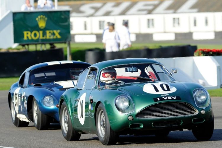 1961 Aston Martin DB4GT Zagato - Adrian Beecroft and Tony Dron