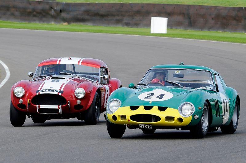 1962 Ferrari 250 GTO - Joe Bamford and Alain de Cadenet and 1963 AC Cobra Le Mans Coupe - Shaun Lynn and Desire Wilson