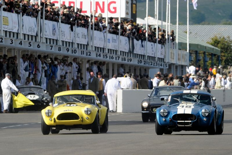 1963 AC Cobra - Bill Bridges and Brian Redman and 1963 AC Cobra - Emanuele Pirro and Marc Devis