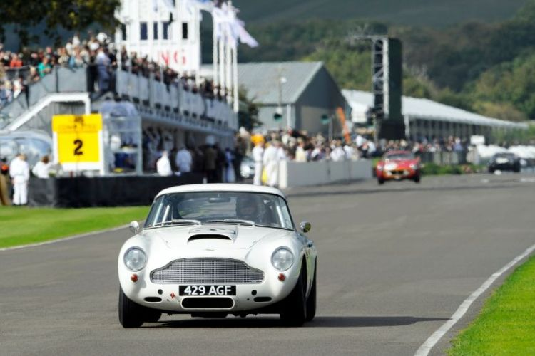 1960 Aston Martin DB4GT - Tom Alexander and Christian Horner