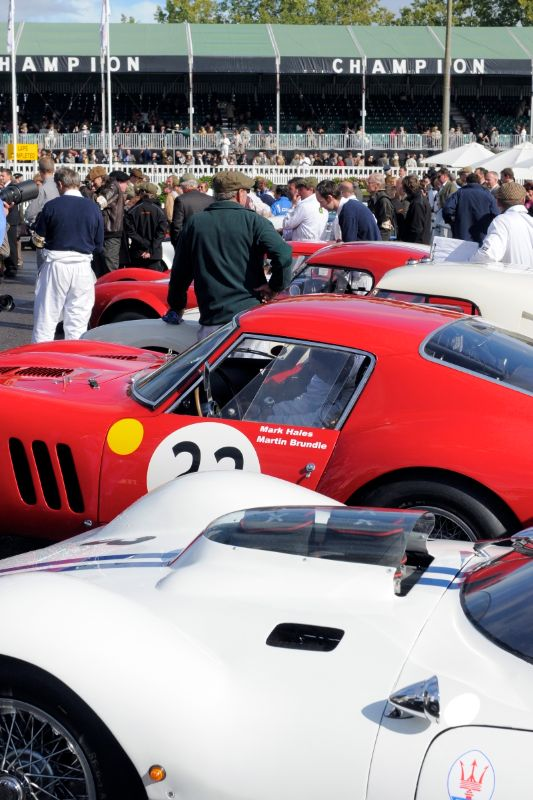 1962 Maserati Tipo 151 - Joe Colasacco and Derek Hill and 1962 Ferrari 250 GTO - Martin Brundle and Mark Hales
