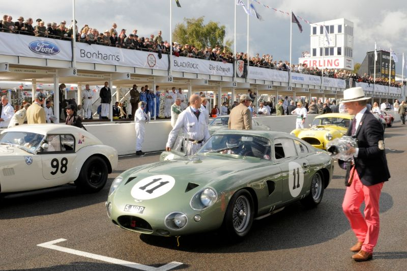 1963 Aston Martin Project 214 - Julien Draper and Stuart Graham