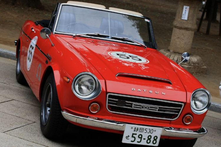 Datsun Fairlady SR311 at Rally Nippon 2011